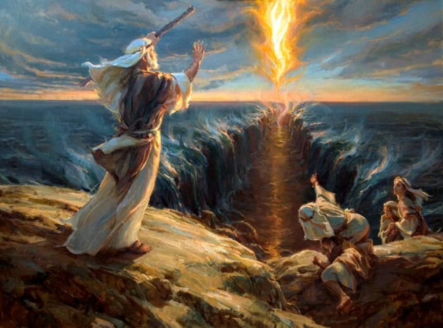 Моисей-переход-через-Красное-море